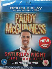 Paddy McGuinness Saturday Night Live Tour (Blu-ray, 2011) NEW SEALED PAL