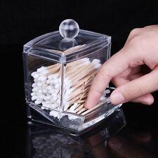 Wattestäbchen Kosmetex Acryl Behälter Halter Box für die Aufbewahrung Organizer
