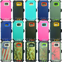 For Samsung Galaxy (S7) Case Cover(Belt Clip Fits Otterbox Defender)
