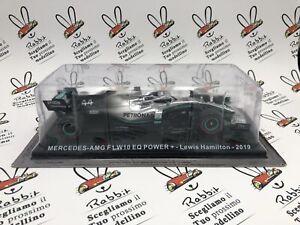 """Die Cast """" Mercedes-Amg F1 W10 Eq Power Lewis Hamilton - 2019 """" Car For Co"""