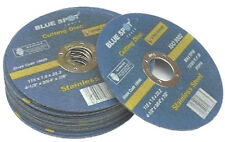 "PACK OF 100 ULTRA THIN METAL CUTTING DISCS 115mm / 4 1/2""   1mm THIN"