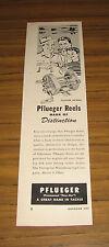 1949 Vintage Ad Pflueger Supreme Fishing Reels Enterprise Mfg Akron,Ohio