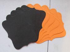 Stampin' Up! Halloween Basic Black/Pumpkin Pie Top Note Die Cuts 12