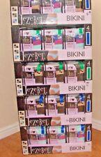 jezebel ladies 4pk bikini lace knickers super soft micro mondal 3 sizes BNWT