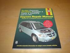 Haynes CHRYSLER GRAND VOYAGER (03-07) Owners Repair Manual Service Handbook Book