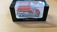 Brekina Mb/8 Ambulans Malmö Brandkar 906 13815