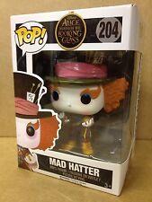 Funko Pop! DISNEY Mad Hatter chronosphere #204 HT esclusivo FIGURA IN VINILE NEW