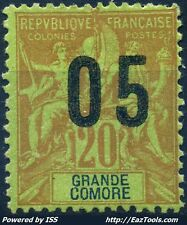 GRAND COMORE TYPE GROUPE N° 23 NEUF * AVEC CHARNIERE