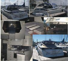 1987 Chris Craft Amerosport 412 with twin Diesels and Surface Drives