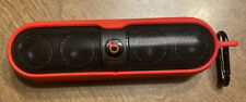 Beats Pill Portable Speaker with Bluetooth Black W/ Red Case