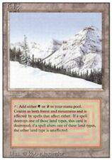 1x Damaged Taiga MTG 3rd Edition/Revised -ChannelFireball-