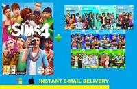 The Sims 4 +10DLC Collection |ORIGIN Digital Download|Windows&MAC| Multilanguage