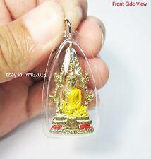 PHRA PHUT CHINNARAJ , Thai Amulet Powerful Pendant for Yellow Monday Birthday