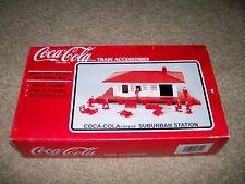 K-line K-40311 Coca-Cola Suburban Station Train Accessories O Scale