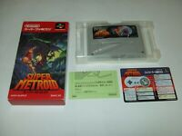Super Metroid boxed Nintendo Super Famicom SFC Japan import