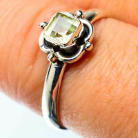 Citrine 925 Sterling Silver Ring Size 8 Ana Co Jewelry R25389F