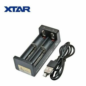 XTAR® MC2 Portable Li-on Battery Charger | USB 18650 21700