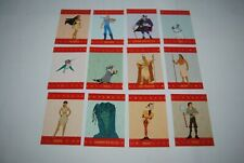 trading card disney pocahontas set 1-12 pop up card