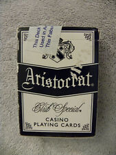 Palace Station Casino Aristocrat Playing Cards Blue Deck-Game Played - EB102