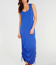 Freya Swim Gigi Jersey Maxi Dress Small in Blue RRP £46