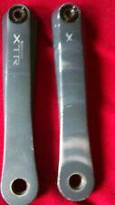 vintage shimano xtr fd-m952 crank arms 175mm