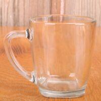 Clear Glass Coffee Mug Tea Cup