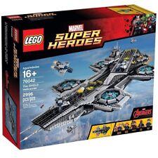 LEGO MARVEL SUPER HEROES 76042 The Shield Helicarrier (Sigillato Nuovo di Zecca & regalo)