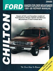 Repair Manuals Literature For 1991 Ford Ranger For Sale Ebay