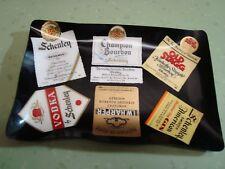 Vintage 70's Schenley Plastic Credit Card Tip Tray