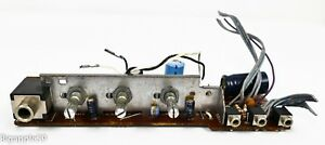 Sony ICF-6800W Shortwave Radio Treble Bass Volume Control Board