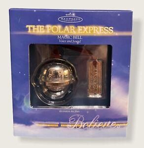 Hallmark Christmas Keepsake Ornament 2004 The Polar Express Magic Bell NIB