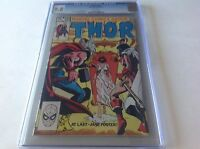 THOR 335 CGC 9.8 WHITE PGS JANE FOSTER SEE THROUGH LINGERIE COVER MARVEL COMICS