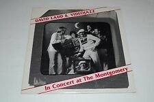 David Ladd & Videojazz~In Concert at The Montgomery~1982 Fusion~AUTOGRAPHED
