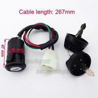 ATV 4 Wire Ignition Key Switch For 50cc 70 90 110 125 cc Quad Go Kart 4 Wheeler