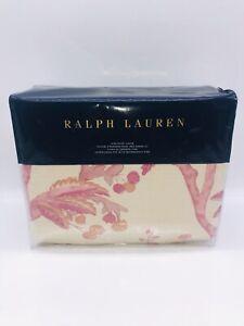 Ralph Lauren Analena Marissa Cotton King Duvet Cover - Pink
