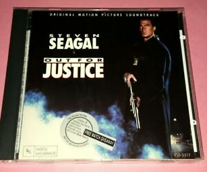 OST: OUT FOR JUSTICE [STEVEN SEAGAL] (1991/U.S.A.)   CD