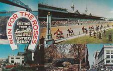 A)  Louisville, KY - Home of the Kentucky Derby - Five Landmark Views