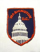 NEW VINTAGE 1980's WASHINGTON D.C. SOUVENIR IRON ON/SEW ON FABRIC APPLIQUE PATCH