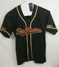San Francisco Baseball Jersey Giants Colors NWT GoGo Sports XL
