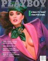 Playboy Magazine April 1987