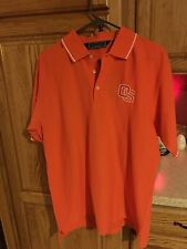 NEW Oregon State Beavers OSU Orange Pullover Golf Polo Shirt Men's Sz M