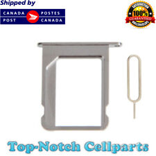 New Original iPhone 4 4S SIM Card Tray Holder with Eject Tool - Silver