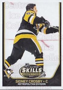 2017-18 Panini Stickers #456 Sidney Crosby