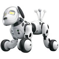 Smart Robot Dog 2.4G Wireless Remote Control Kids Toy Intelligent Talking R Y7J4