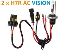 35W Car HID Xenon Headlight Light Conversion Kit AC Ballast H7R 8000K Bulbs