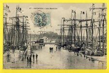 cpa FRANCE 22 - PAIMPOL (Côtes d'Armor) Les BASSINS Bateaux Voiliers