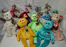 TY Beanie Babies 2002 HAPPY BIRTHDAY Bears, Complete Set 12 Months, MWT