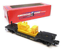 American Flyer 6-48513 Csx Depressed Flat Car with Generator, S Gauge