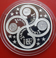 France-francia: 1 1/2 euro 2003 pp-proof plata, km # 1338, #f1527