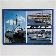 Southampton Ocean Village 1988 Postcard (P427)